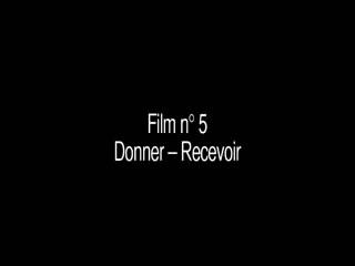 "Education sensuelle ""Donner-Recevoir"""