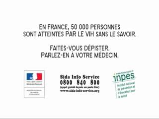 Campagne pour le dépistage du sida