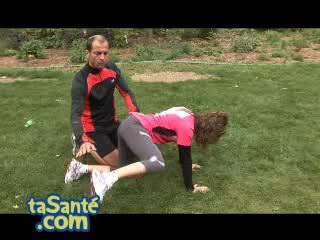 Comment avoir des fesses musclées ? Exercice 2